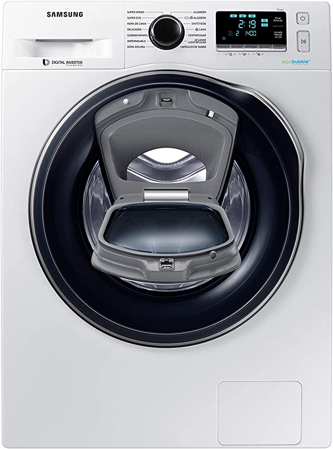 Samsung - Lavadora AddWash™ Serie 6 8kg WW80K6414QW A+++, Carga ...