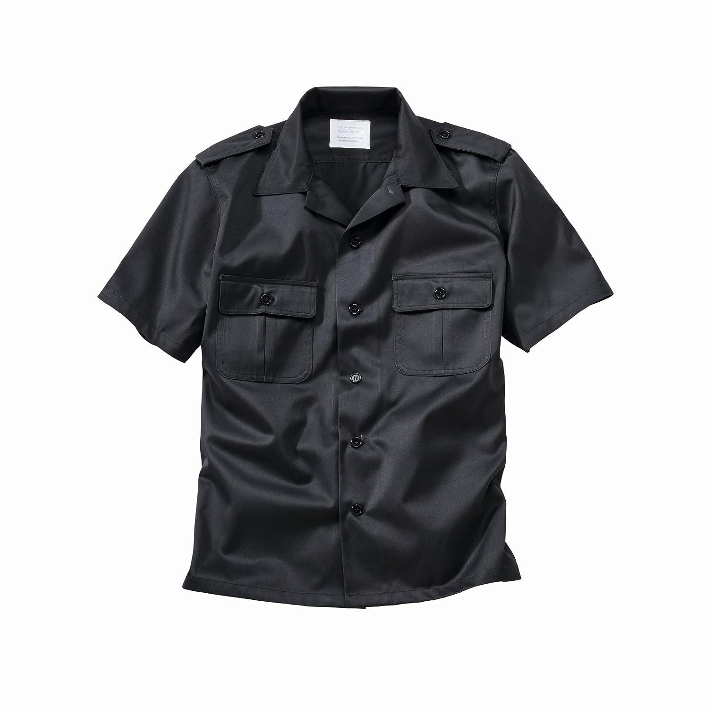 Surplus US camisa manga corta Negro