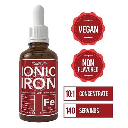 Amazon.com: Suplemento de hierro líquido iónico – La tasa de ...