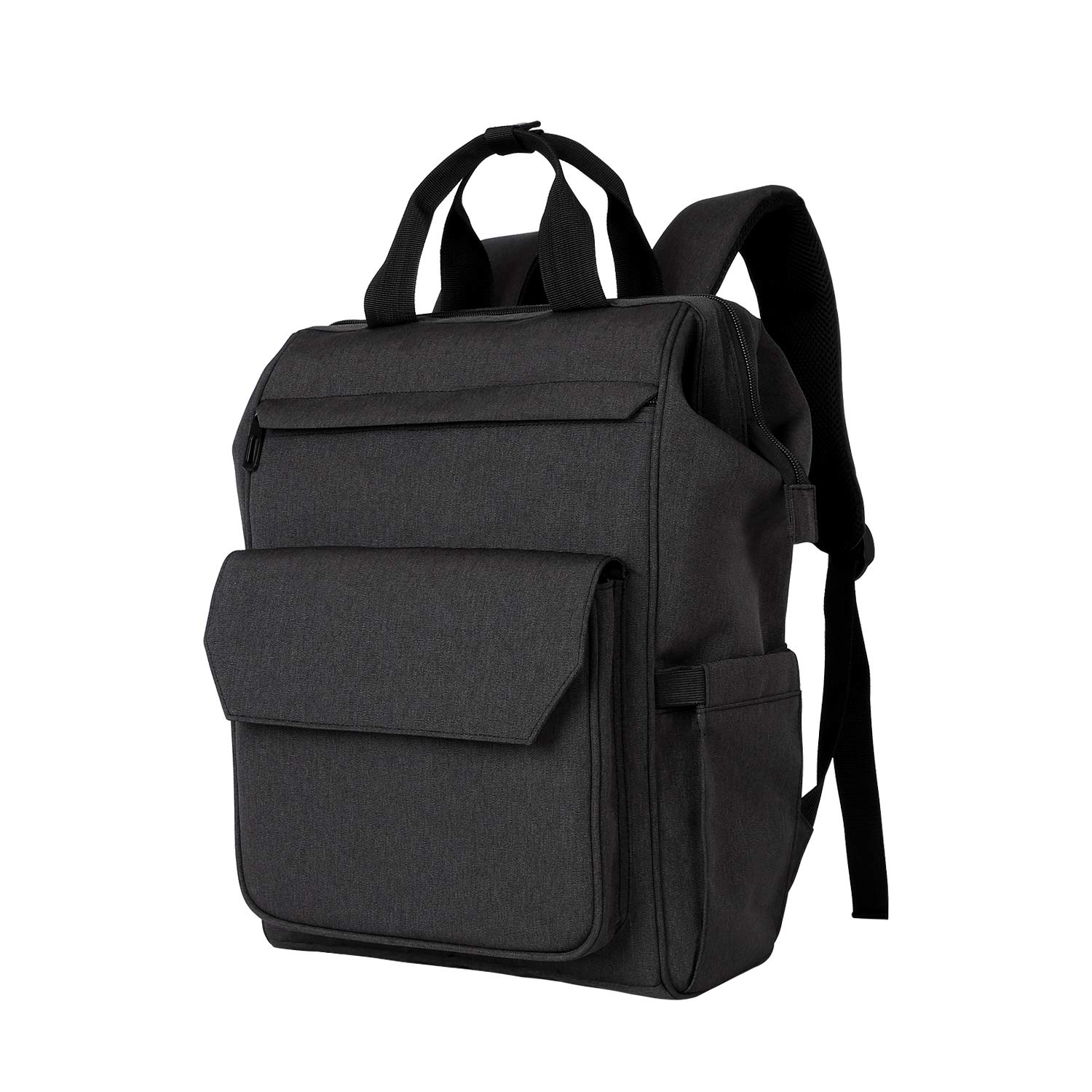 "Zpoint 7652 Large Business Travel Backpack, Durable Functional Water Resistant, School College Commuting Bag with Headphones Port Luggage Strap 15.6 "" Laptop, Black  Price: $29.90"