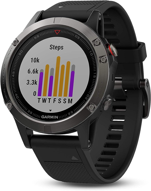 best watch for hunting: Garmin Fenix 5X Sapphire