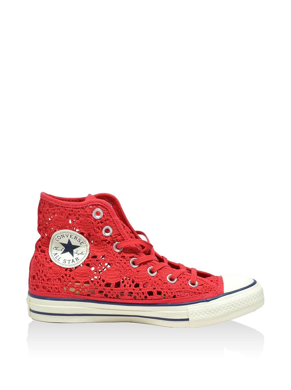 Converse 552998c, Montantes Femme All Star Hi Crochet