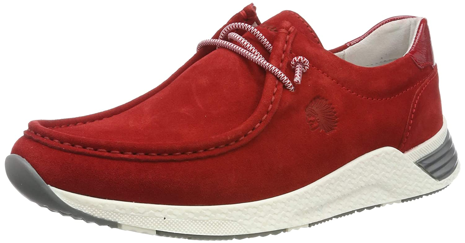 Sioux Womens Grash-d191-57 Low-Top Sneakers, Fire 005 4.5 UK