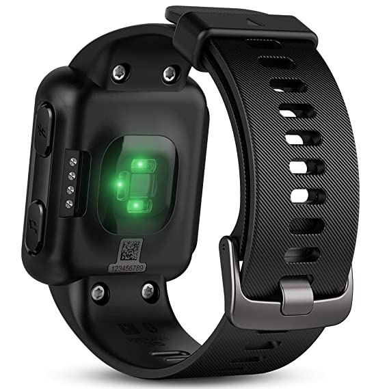 Garmin Forerunner 35- Reloj GPS con monitor de frecuencia cardiaca en la muñeca, monitor de actividad y notificaciones inteligentes, color negro