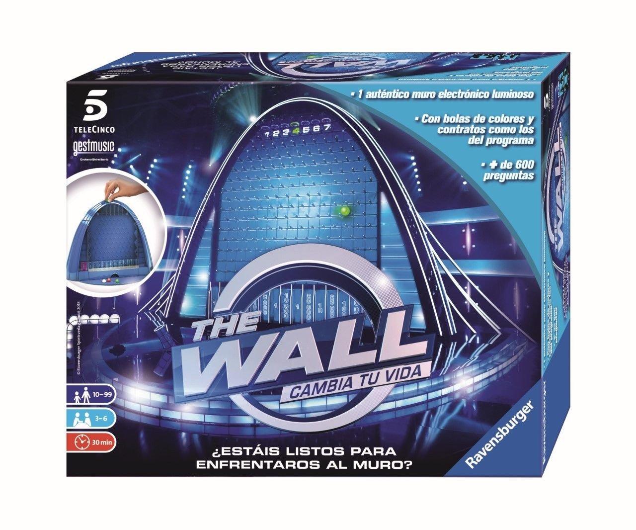 Outletdelocio. Juego de mesa TV The Wall (El Muro). Edicion en castellano: Amazon.es: Juguetes y juegos