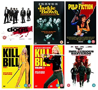 Quentin Tarantino Collection Volume 1 Reservoir Dogs, Jackie Brown ...