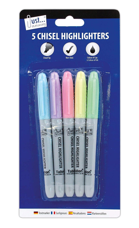 6 Colors Candy Color Highlighter Notebook Maker Pens Fluorescent Line Marker Set