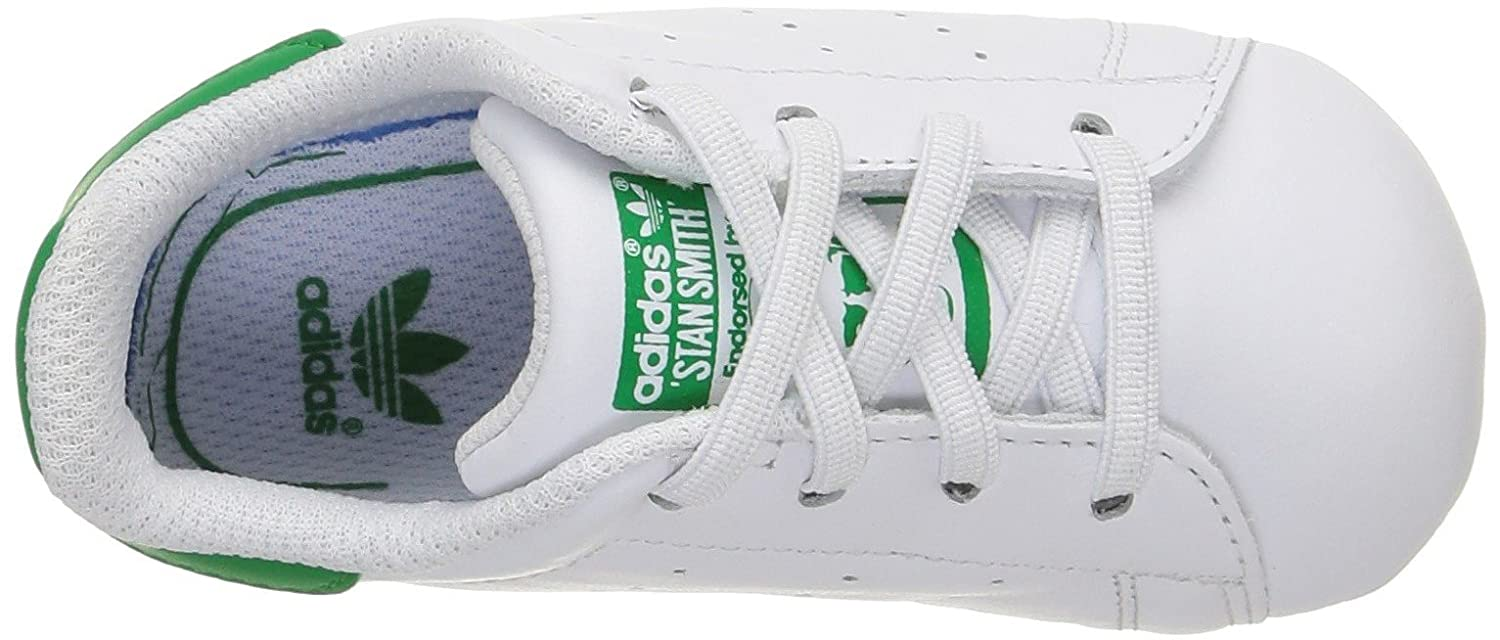wholesale dealer 25285 1cb2b adidas Stan Smith Crib, Pantofole Unisex - Bimbi 0-24  MainApps  Amazon.it   Scarpe e borse