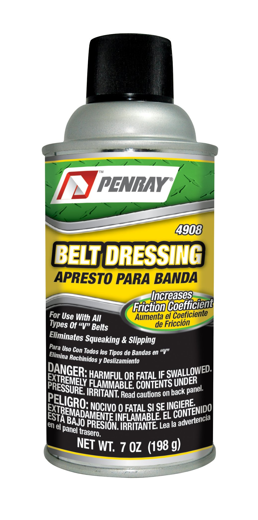 Penray 4908 Belt Dressing - 7-Ounce Aerosol Can by The Penray Companies