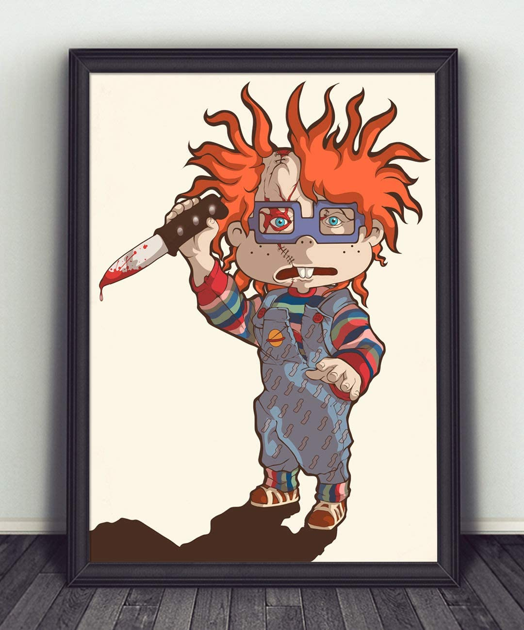 Rugrats Chuckie Childs Play Print Rugrats Chuckie Wall Poster Rugrats Chuckie Art Wall Decor Poster Horrible Movie Poster Decor Gifts for Kids