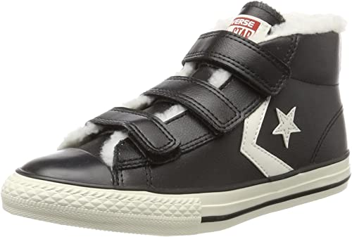 Converse Star Player Ev 3v Mid BlackEgret, Zapatillas Altas