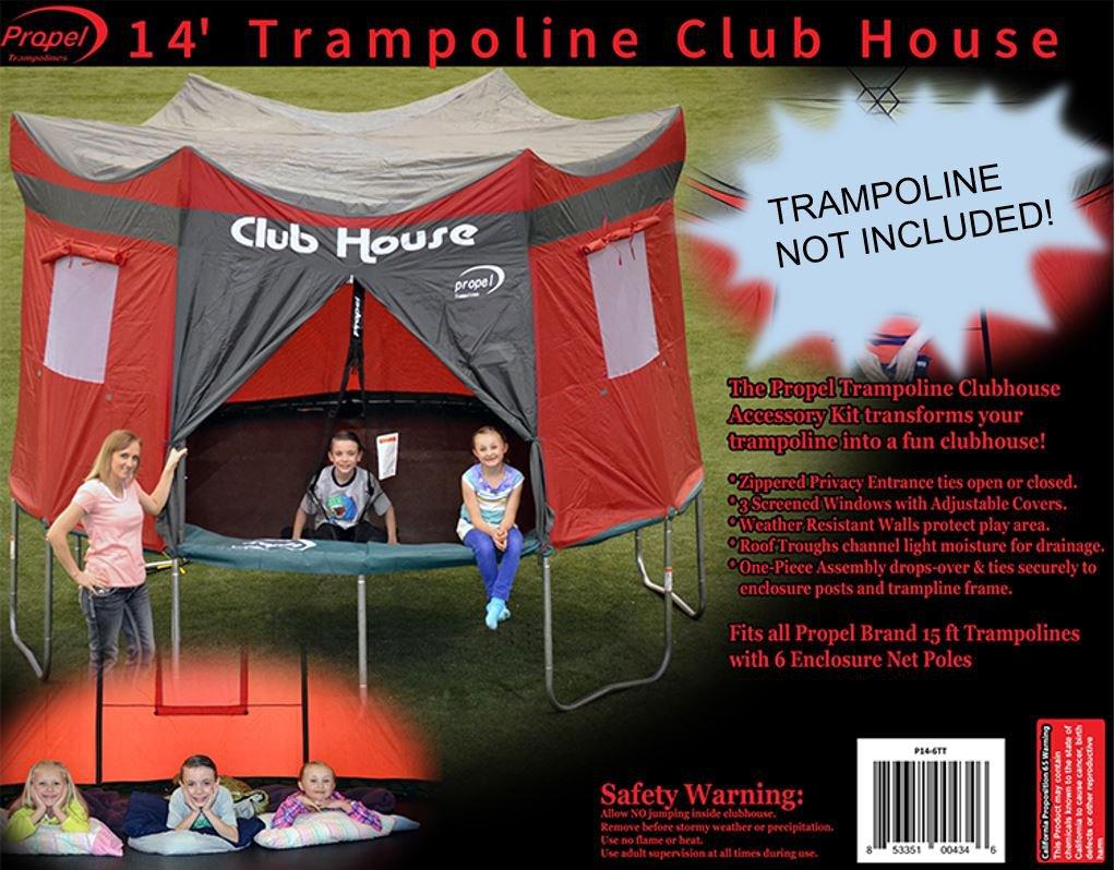 Propel Trampolines Propel Tent, 14', Maroon 14' P14-6TT