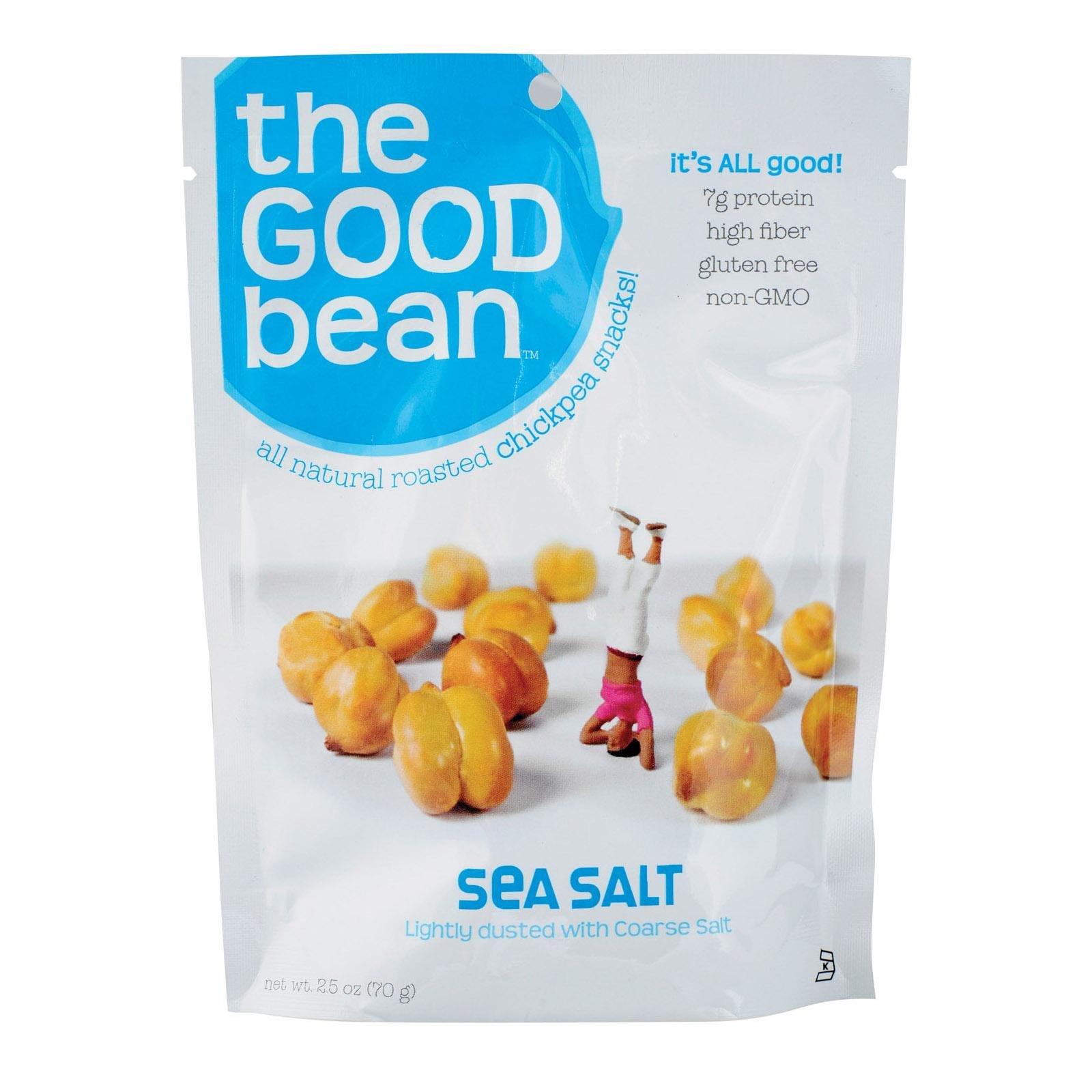 The Good Bean Sea Salt Flavor Chickpeas, 2.5 Ounce - 12 per case.