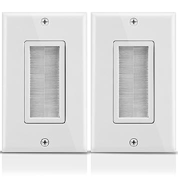 Fosmon Unterputz Wand- Platte/Wall- Plate Montage: Amazon.de: Elektronik