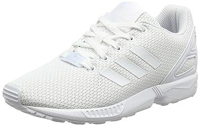 finest selection 8ad00 b2ec2 adidas ZX Flux J, Scarpe da Ginnastica Basse Unisex-bambini, Bianco  (Footwear