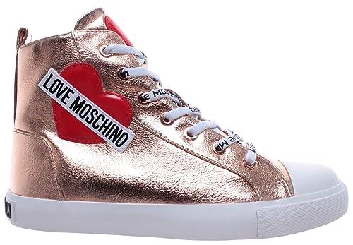 Love Sneakers Scarpe Nod Lamin Sca Gomma 30 Moschino Alte Pu Donna 0vwnm8N