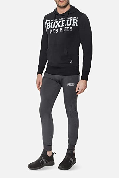 BOXEUR DES RUES - Tracksuit In Stretch Cotton with Black ...