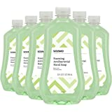Amazon Brand - Solimo Foaming Antibacterial Soap Refill, Pear Scent, Triclosan-Free, 32 Fluid Ounces (ONLY Fits Foaming Dispe