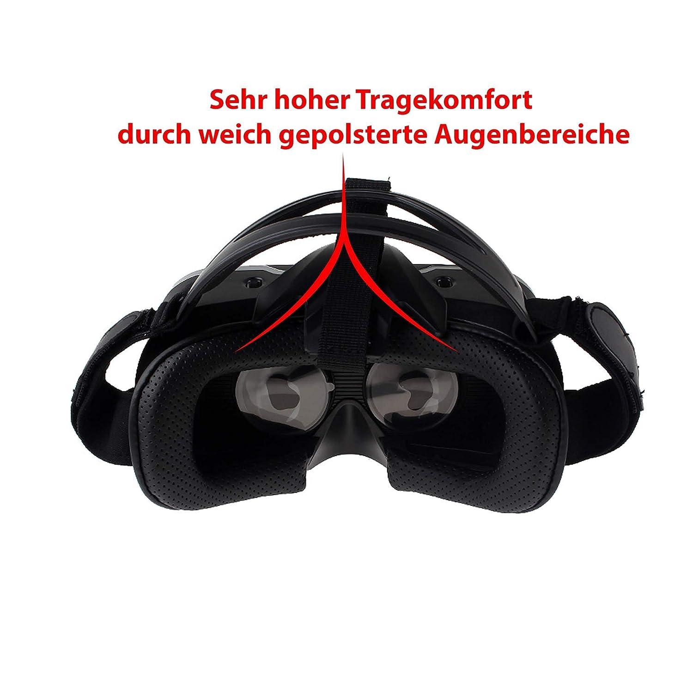 VR Gafas de 3d Virtual Reality 4inch 6inch pulgadas Smartphone