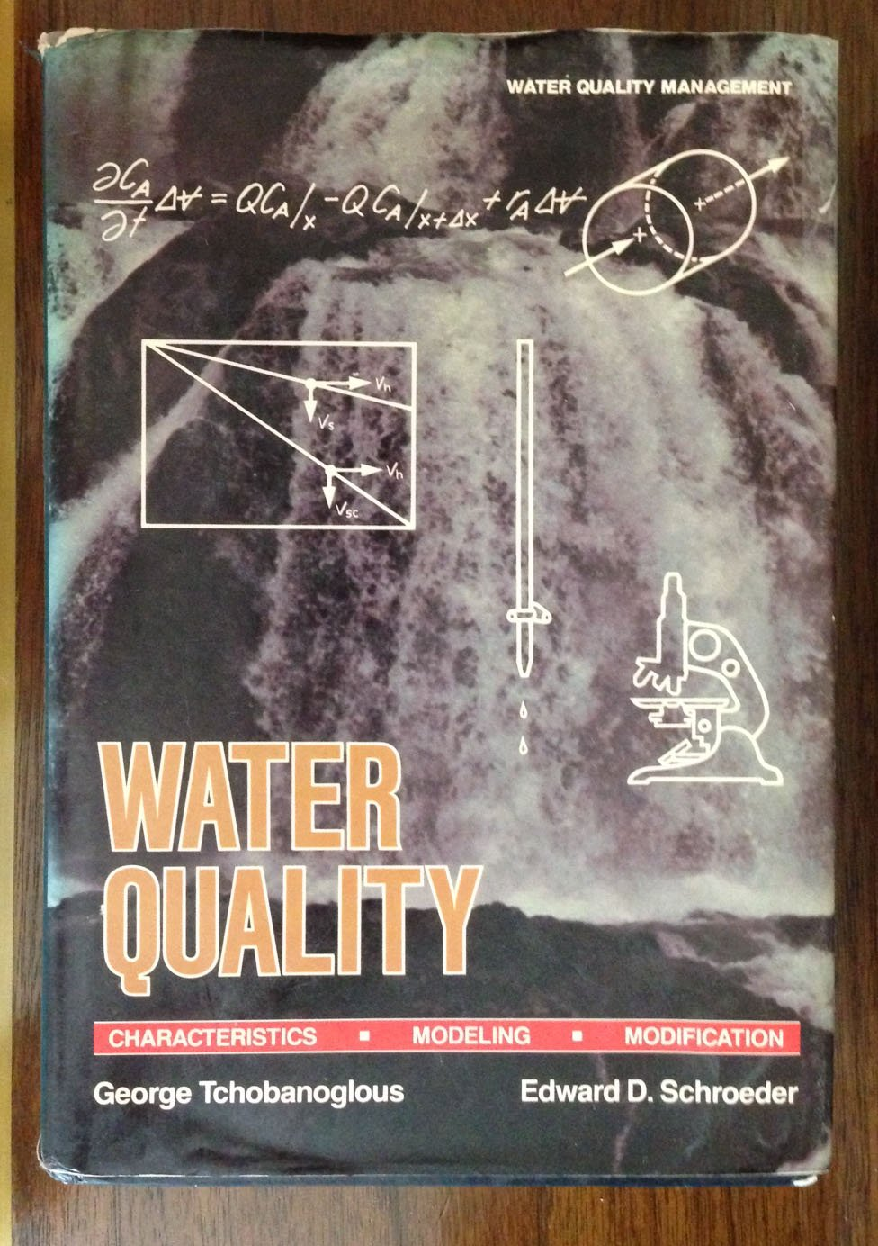 water quality characteristics modeling and modification