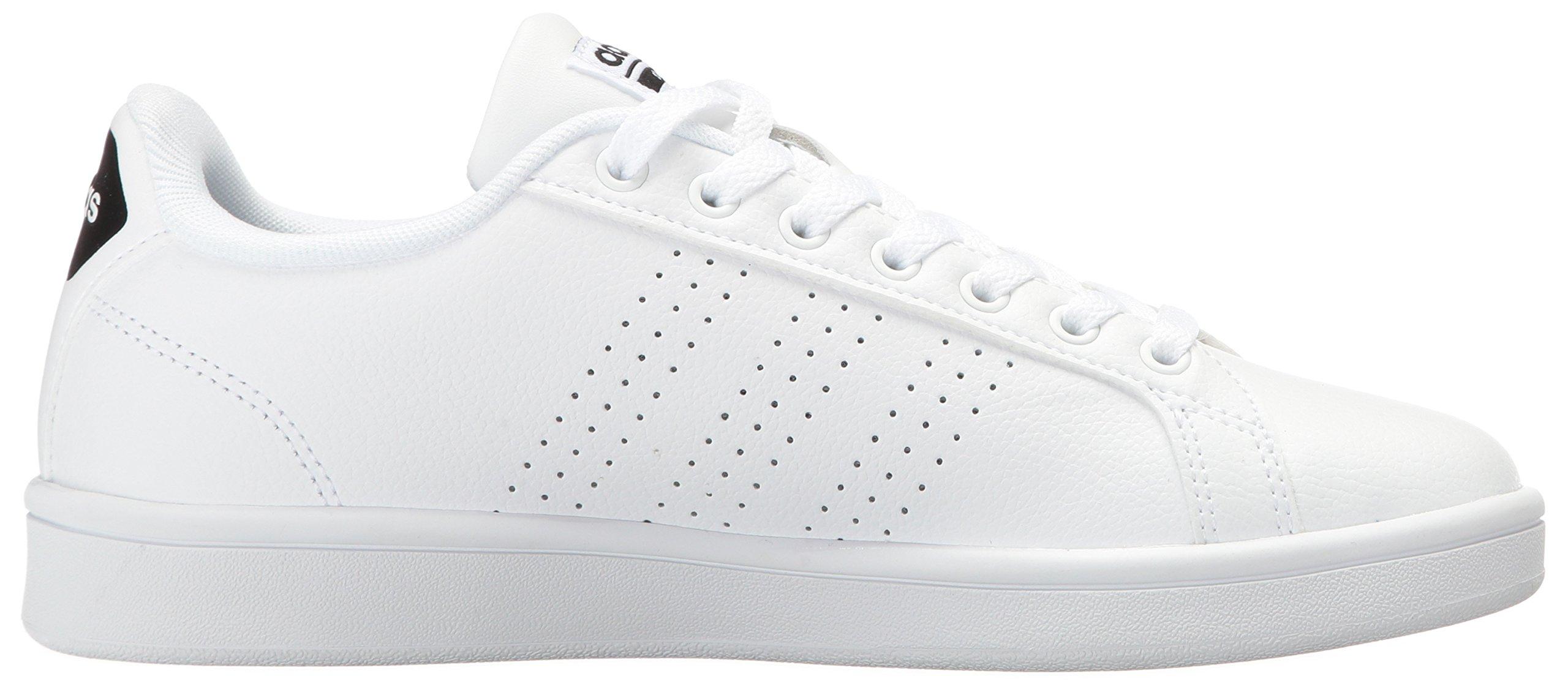 adidas Women's Shoes Cloudfoam Advantage Clean Sneakers, White/White/Black, (7.5 M US) by adidas (Image #7)