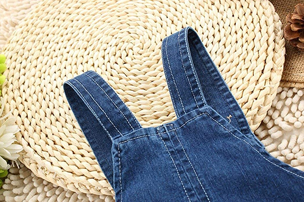 Kidscool Baby Boys//Girls Big Yellow Ears Cute Dog Summer Jeans Shortalls