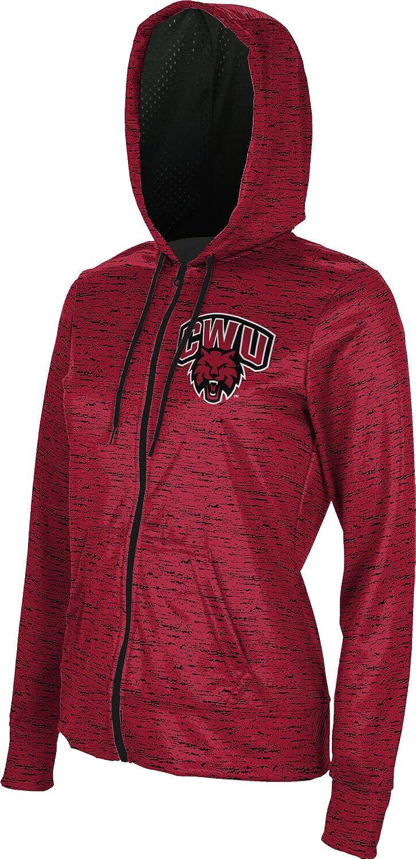 Brushed Central Washington University Girls Zipper Hoodie School Spirit Sweatshirt