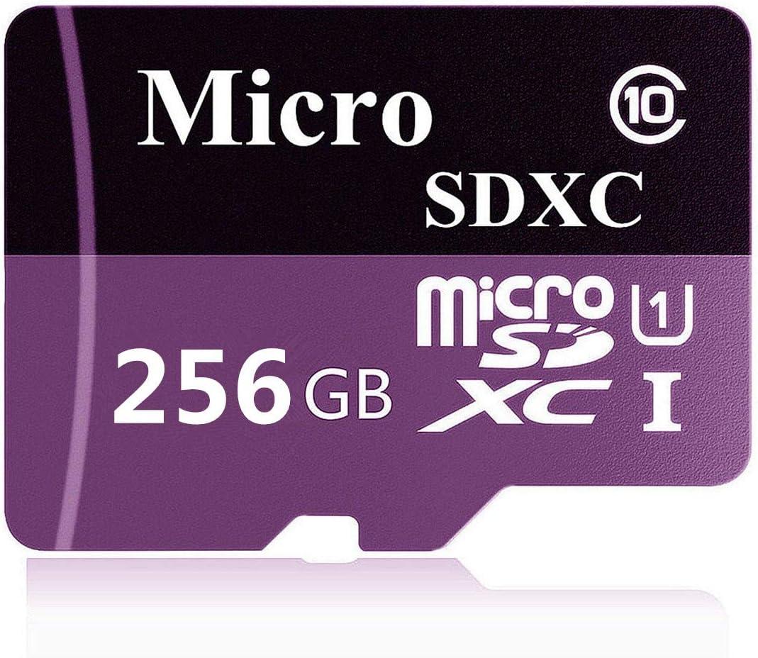 adaptateur gratuit 256 Go Geneircc Carte m/émoire Micro SD SDXC Classe 10 128 Go//256 Go//400 Go pour t/él/éphone portable