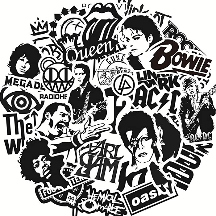 Top 9 Queen Band Stickers For Laptop