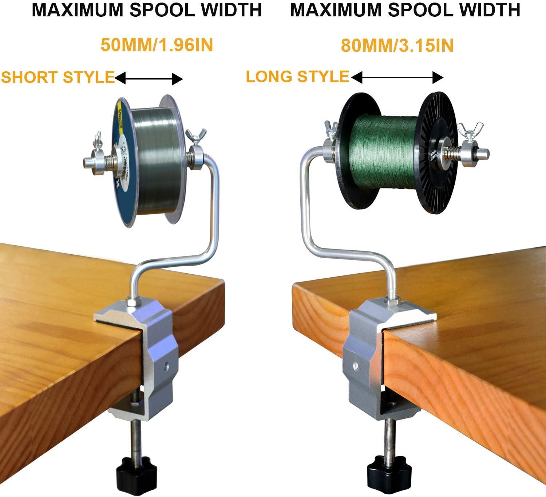 Schnurspulgerät mit Saugnapf Angelschnur Spool Spooler System