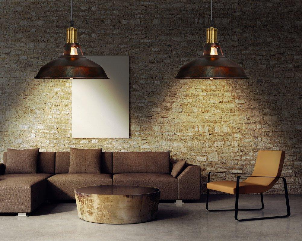 Lampadari Plafoniere Rosse : Fuloon lampadario vintage lampade a sospensione plafoniera in