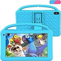 Tablet para Niños Regalo Pantalla IPS De 7 Pulgadas Quad-Core Android 10.0 2GB Ram 32GB ROM Google Play Preinstalado con…