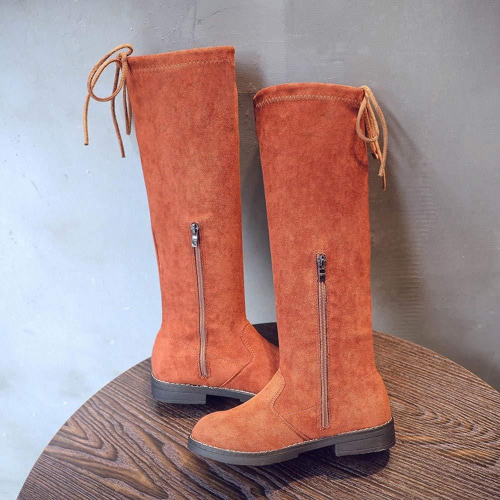 Kid Girls The Knee Flock Warm Boots,Autumn Winter Keep Warm Fashion Children Thickening Girls Snow Boots