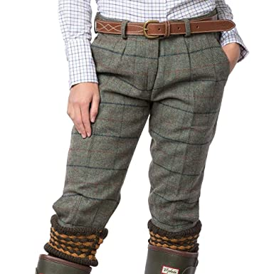 9f710d1039579 Rydale Ladies Tweed Shooting Breeks Country Check Tweed Women's Hunting  Trousers: Amazon.co.uk: Clothing