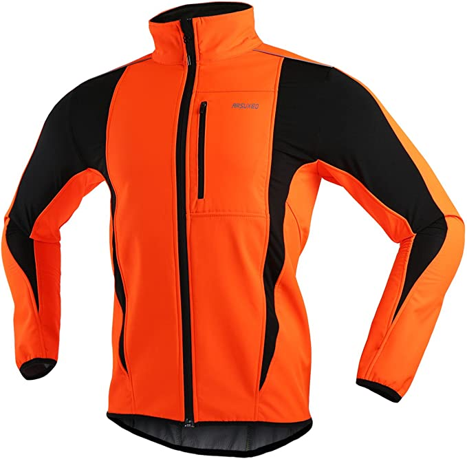 best hunting jackets: ARSUXEO Winter Warm UP Thermal Softshell Jacket