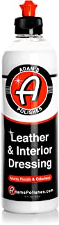product image for Adam's Leather & Interior Matte Finish Dressing - Conditions & Restores Leather, Vinyl, and Plastic Interior Surfaces - Odorless, Long Lasting UV Protection That Improves Feel Of Your Interior (16 oz)