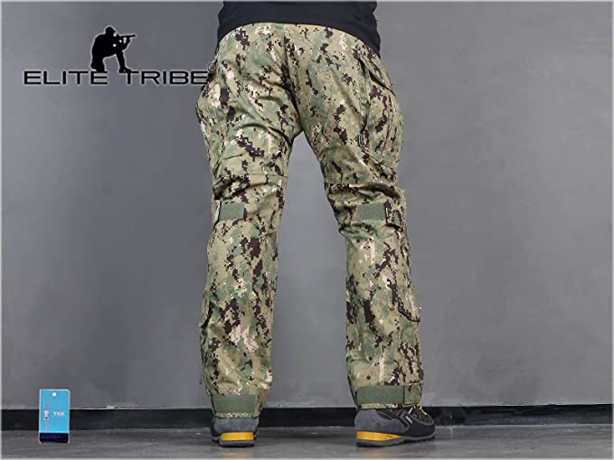 Homme Tenues de Combat Pantalon Militaire Paintball Gen3 Tactique Pantalon et Genouill/ères AOR2