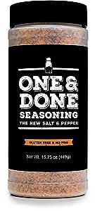 One & Done All Purpose Seasoning & BBQ Rub, (15.75 oz)