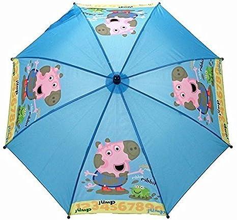 Paraguas George Saltando Peppa Pig