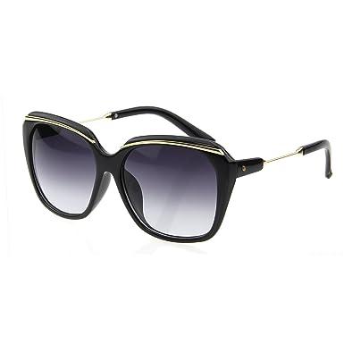 LianSan Designer PC Frame UVProtection Oversized Rerto Fashion Womens  Ladies Sunglasses LSP507 Black b5da91d929