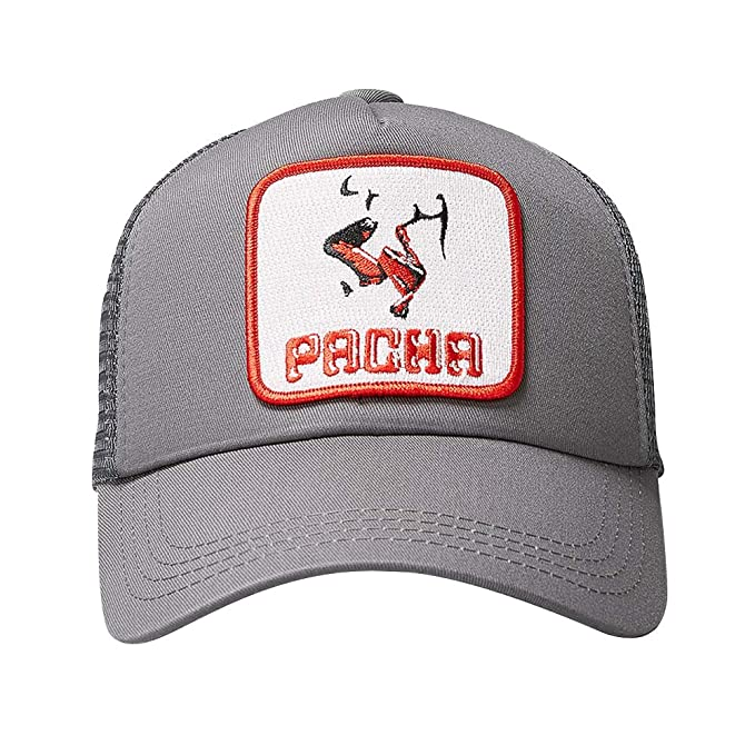 PACHA - Gorra Oficial Flower Power Gris Unisex by Lucky Seven ...
