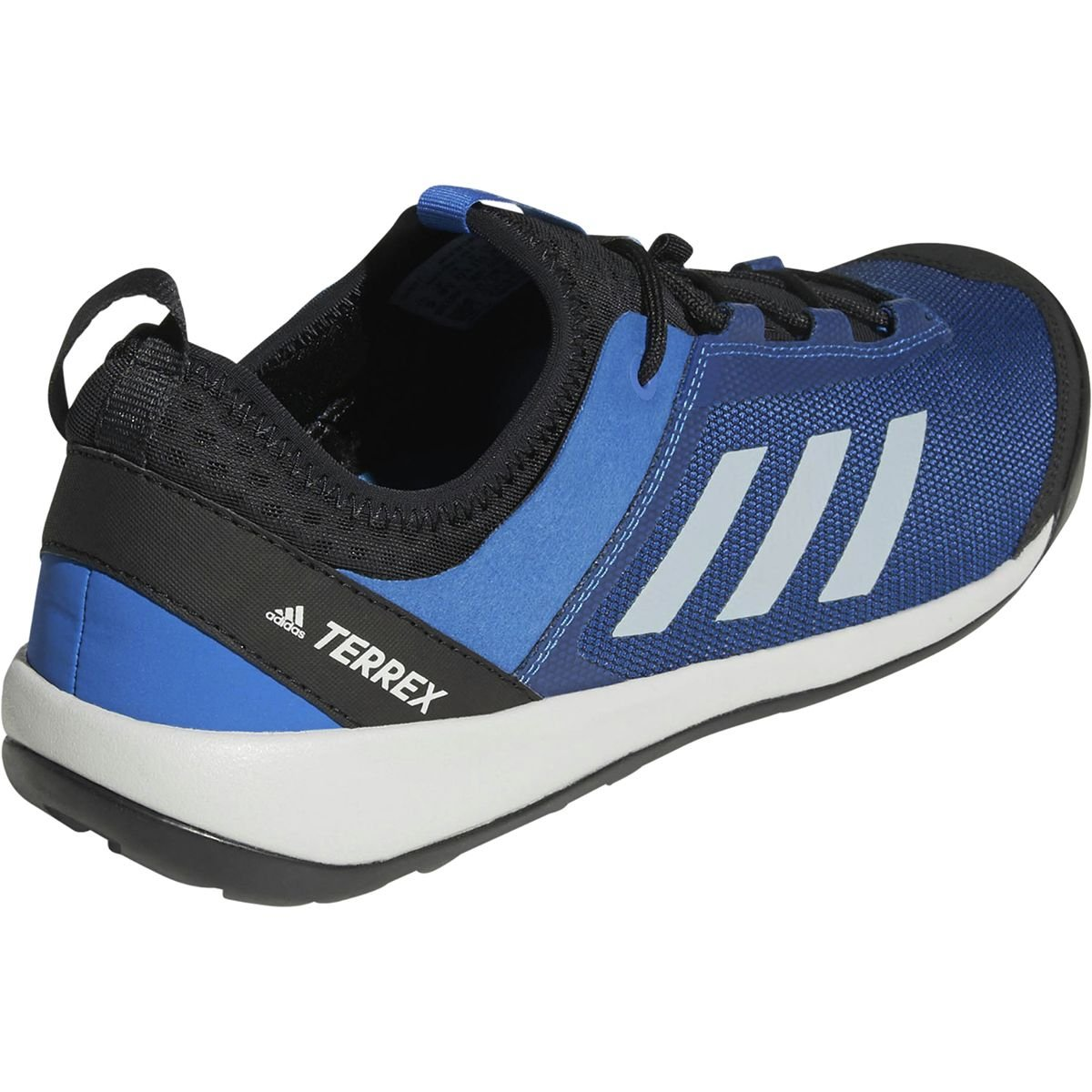 23d98502a9dda adidas outdoor Men's Terrex Swift Solo Blue Beauty/Grey One/Bright Blue 10  D US
