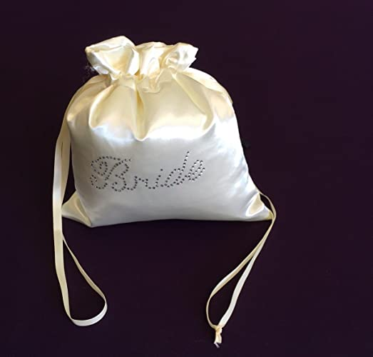 Image Unavailable. Image not available for. Color  Custom Made Money Bag  for Wedding Day Dollar Dance Ivory Satin Bride Bag d00518786e4db