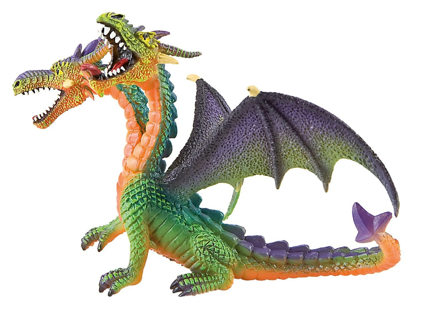 Double-Headed Dragon Figurine