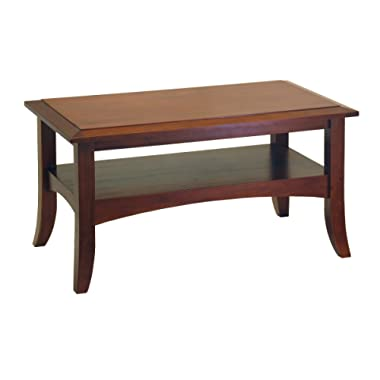 Winsome Wood Craftsman Occasional Table, Antique Walnut
