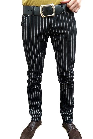 pin striped jeans vintage