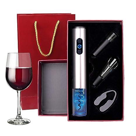 Amazon.com: ZOEMO Abridor de vino eléctrico incluye 4 pilas ...
