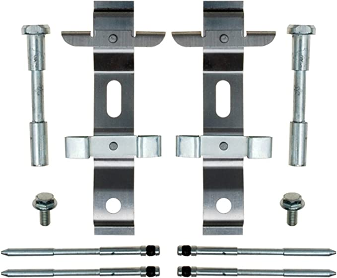 ACDelco 18K1763X Professional Front Disc Brake Caliper Hardware Kit with Clips and Seals