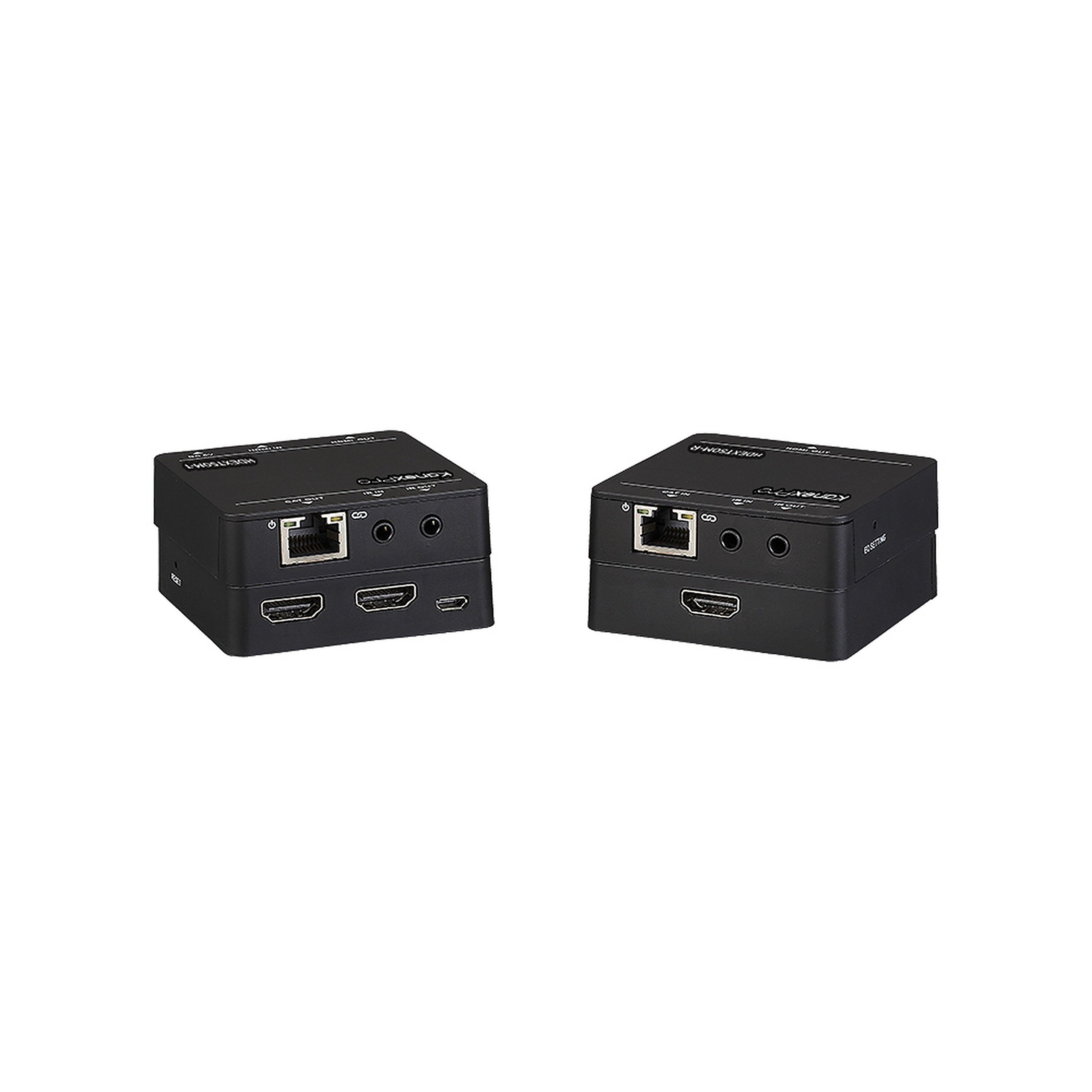 KanexPro HDMI Over CAT-5/6 Extender, Black (HDEXT50M) by Kanex Pro