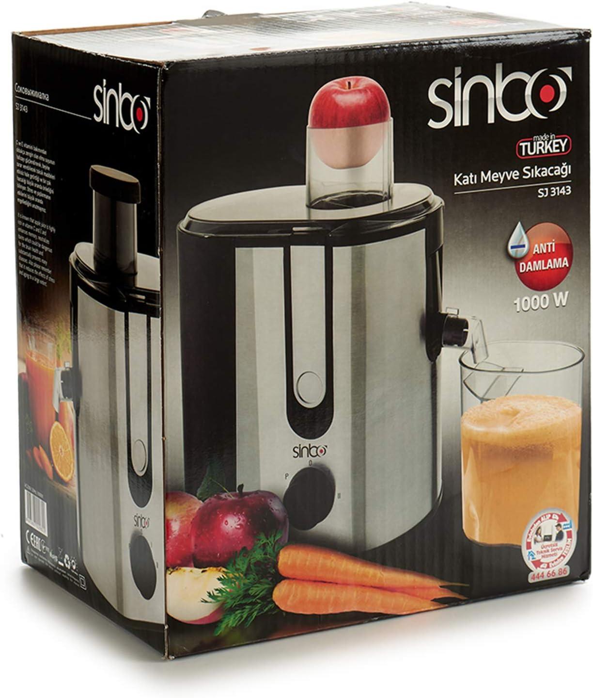 Sinbo Licuadora para Verduras y Frutas, Exprimidor y Extractor de ...